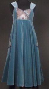 Peacock dress by Annabelinda