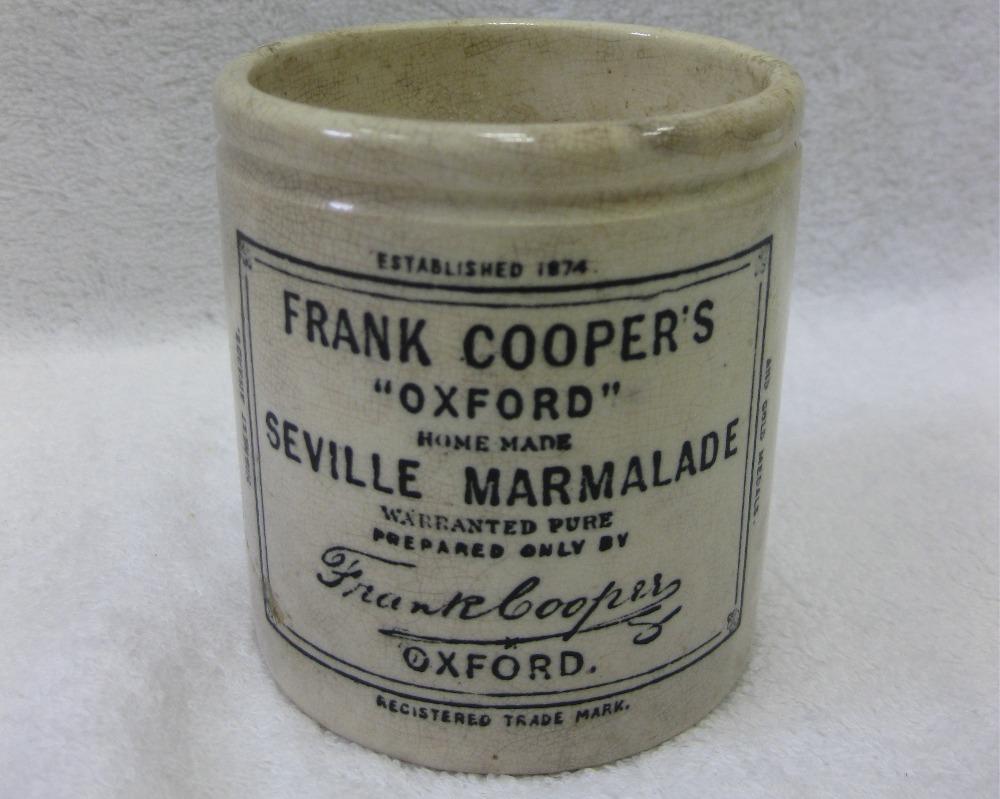 Frank Cooper's marmalade jar
