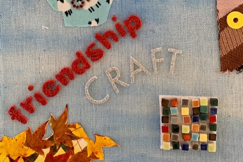 Arts and craft collage